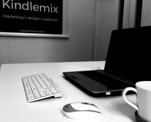 Kindlemix office in Brecon, Powys