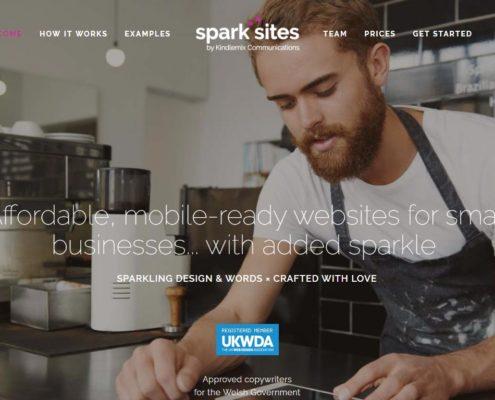 Spark Sites website