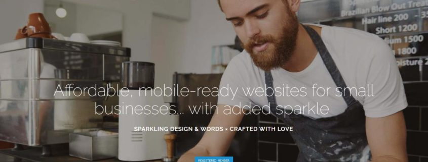 Spark Sites website