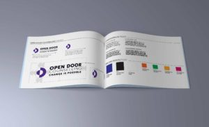 Open Door's style guide document
