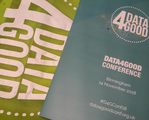 Data4Good conference brochure