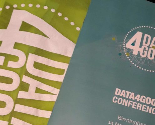 Data4Good conference banner